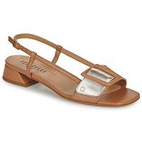 Topánky Ženy Sandále Fericelli PANILA Ťavia hnedá / Zlatá
