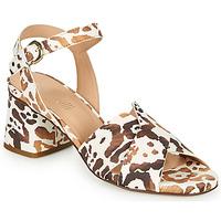 Topánky Ženy Sandále Fericelli ONAPA Béžová / Zlatá