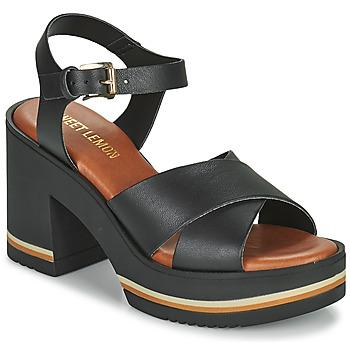 Topánky Ženy Sandále Sweet Lemon LUPOLE Čierna