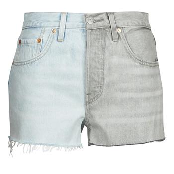 Oblečenie Ženy Šortky a bermudy Levi's ICE BLOCK Modrá / Šedá