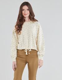 Oblečenie Ženy Mikiny Levi's CINCHED CREW SWEATSHIRT Béžová