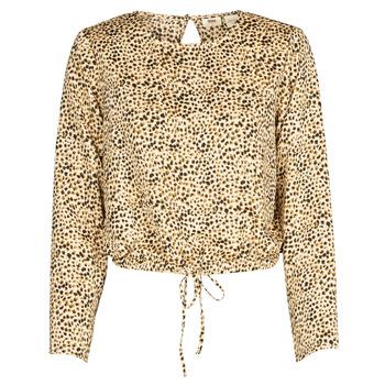 Oblečenie Ženy Košele a blúzky Levi's AMMOLITE SHIFTING SAND Béžová