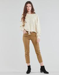 Oblečenie Ženy Nohavice päťvreckové Levi's SOFT CANVAS TOASTED COCONUT OD Béžová