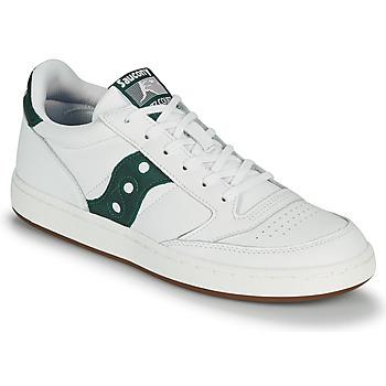 Topánky Muži Nízke tenisky Saucony JAZZ COURT Biela / Zelená