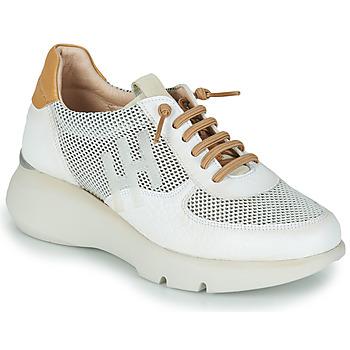 Topánky Ženy Nízke tenisky Hispanitas TELMA Biela / Zlatá