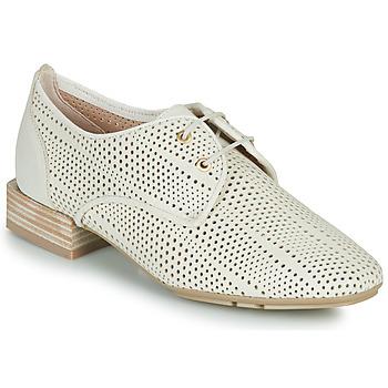 Topánky Ženy Derbie Hispanitas ELY Béžová