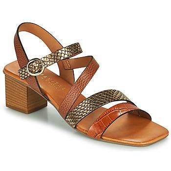 Topánky Ženy Sandále Hispanitas OLGA Hnedá / Bronzová