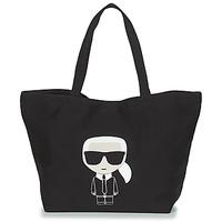 Tašky Ženy Veľké nákupné tašky  Karl Lagerfeld K/IKONIK KARL TOTE Čierna