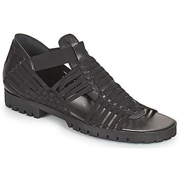 Topánky Ženy Sandále Kenzo GREEK FLAT SANDALS Čierna