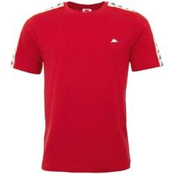 Oblečenie Muži Tričká s krátkym rukávom Kappa Hanno Červená