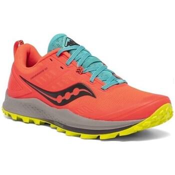Topánky Ženy Bežecká a trailová obuv Saucony Peregrine 10 Červená, Modrá