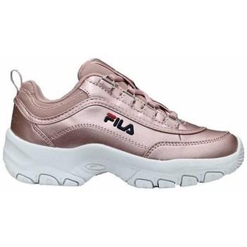 Topánky Dievčatá Nízke tenisky Fila Strada F Low JR Ružová