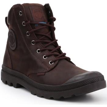Topánky Členkové tenisky Palladium Manufacture Pampa Cuff WP LUX 73231-249-M brown