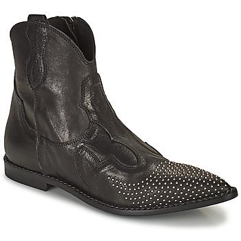 Topánky Ženy Polokozačky Mimmu MONTONE NERO Čierna