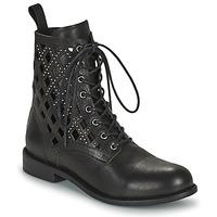 Topánky Ženy Polokozačky Mimmu MONTONE NEROA Čierna