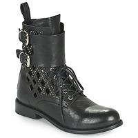 Topánky Ženy Polokozačky Mimmu MONTONE NEROB Čierna