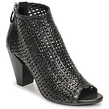 Topánky Ženy Nízke čižmy Mimmu INTRECCIO-NERO-PARKER Čierna