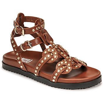 Topánky Ženy Sandále Mimmu VITELLO-CUOIO Hnedá