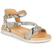 Topánky Ženy Sandále Mjus KETTA Strieborná