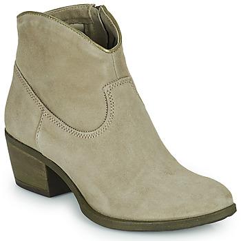 Topánky Ženy Čižmičky Mjus DAL COLOR Béžová