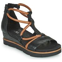 Topánky Ženy Sandále Mjus TAPASITA Čierna / Ťavia hnedá