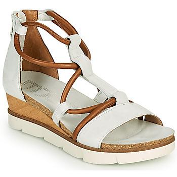 Topánky Ženy Sandále Mjus TAPASITA Biela / Ťavia hnedá