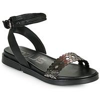 Topánky Ženy Sandále Mjus KETTA Čierna / Strieborná
