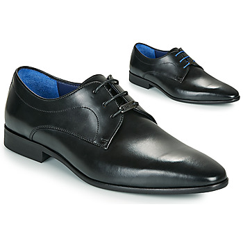 Topánky Muži Derbie Azzaro VILLAGE Čierna