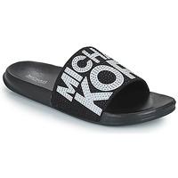 Topánky Dievčatá športové šľapky MICHAEL Michael Kors JETT JAE Čierna