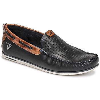 Topánky Muži Mokasíny Bugatti CHESLEY Námornícka modrá