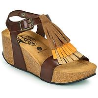 Topánky Ženy Sandále Plakton SO TONKA Hnedá