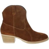 Topánky Ženy Čižmičky Riposella IC-31 Brown leather