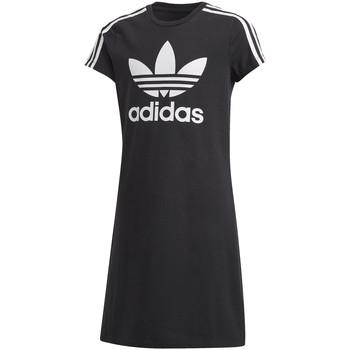 Oblečenie Dievčatá Krátke šaty adidas Originals FM5653 čierna