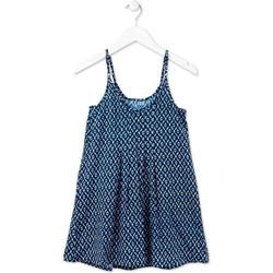 Oblečenie Dievčatá Krátke šaty Losan 714 7017AB Modrá