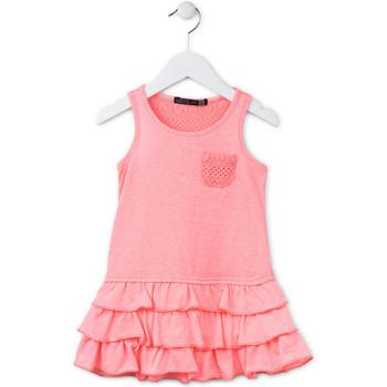 Oblečenie Dievčatá Krátke šaty Losan 716 7009AD Ružová