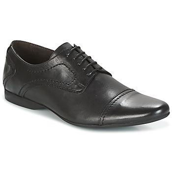 Topánky Muži Derbie Carlington MOUNFER Čierna
