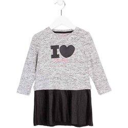 Oblečenie Dievčatá Krátke šaty Losan 726 7014AD Šedá