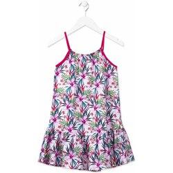 Oblečenie Dievčatá Krátke šaty Losan 814-7043AB Ružová