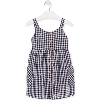 Oblečenie Dievčatá Krátke šaty Losan 016-7002AL Modrá