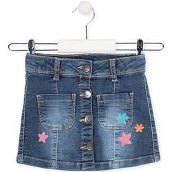 Oblečenie Dievčatá Sukňa Losan 016-7061AL Modrá