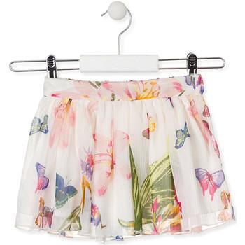 Oblečenie Dievčatá Sukňa Losan 016-7781AL Biely