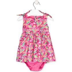 Oblečenie Dievčatá Šaty Losan 018-7006AL Ružová