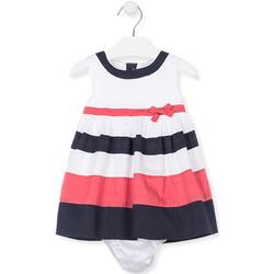 Oblečenie Dievčatá Šaty Losan 018-7793AL Biely