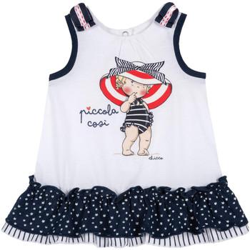 Oblečenie Dievčatá Krátke šaty Chicco 09003587000000 Biely