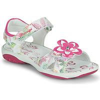 Topánky Dievčatá Sandále Primigi SARAH Biela / Viacfarebná