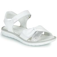 Topánky Dievčatá Sandále Primigi LOLA Biela / Strieborná