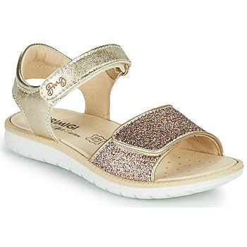 Topánky Dievčatá Sandále Primigi CYRIELLE Zlatá