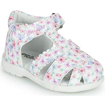 Topánky Dievčatá Sandále Primigi NOEMIE Biela / Viacfarebná