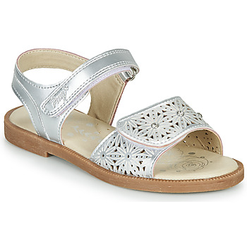 Topánky Dievčatá Sandále Primigi MICHELLE Strieborná