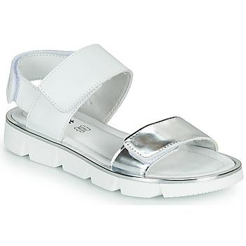 Topánky Dievčatá Sandále Primigi ANNA Biela / Strieborná